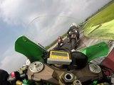 Just4Fun Rennen MOST CZ Sep.2014  ZX10R Onboard