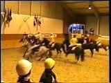 Horse ball team nancy cheval liberte