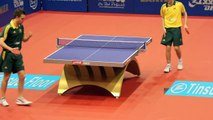 Oceania Olympic Qualifier 2012. Henzell vs Powell. Table tennis HD