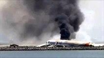 アシアナ航空機の事故があった広島空港は、標高300メートル、気流が乱れやすく、霧が発生しやすい!