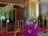 Lion Dance At Conrad Hong Kong Hotel [03/02/2011]