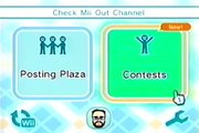 """How to Use the Nintendo Wii : Contests on the """"Check Mii"""" Out Channel on Wii"""