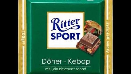Lustige Ritter Sport-Varianten