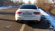 Supersprint full exhaust for Audi A4 _ A5 2.0 TFSI - Acceleration and onboard