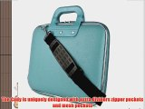 Cady Messenger Cube SKY BLUE Ultra Durable Tactical Leather -ette Bag Case fits Samsung Galaxy