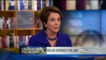 Breathless and babbling, Nancy Pelosi stumbles through a Meet the Press interview.