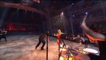tWitch and Allison Holker with Lindsey Stirling on DWTS