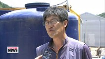 Farmers are struggling to get by as drought continues in Korea