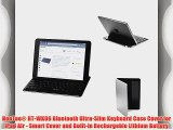 HooToo? HT-WK06 Bluetooth Ultra-Slim Keyboard Case Cover for iPad Air - Smart Cover and Built-in
