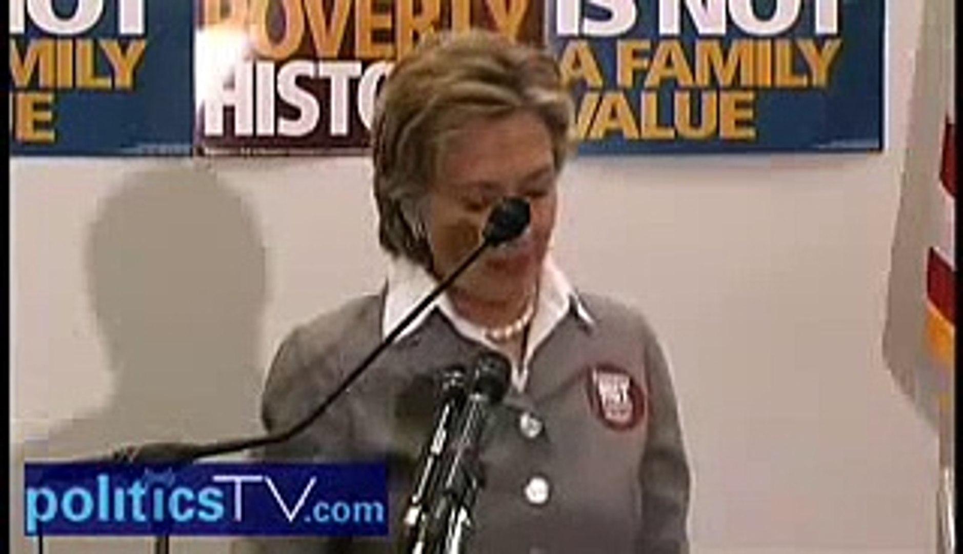 Hillary Clinton addresses progressive religious activists