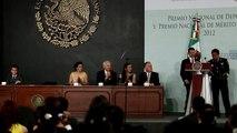 Premio Nacional de Deportes y el Premio Nacional de Mérito Deportivo 2012, 2 diciembre 2012