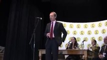 UKIP Nigel Farage says NO to HS2 , speaks on Transport and UKIP - April 2012