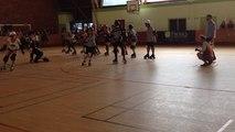 Roller derby: Les petites morues vs La compagnie cruelle