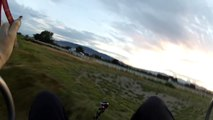 UPSIDE DOWN PARAMOTOR INSANITY LOOPS & SPINS!!! Only Powered Paragliding Trike Pilot To SAT!!!