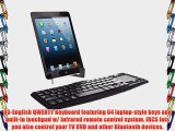 IVSO KeyBook Bluetooth Keyboard Case for ASUS VivoTab Note 8