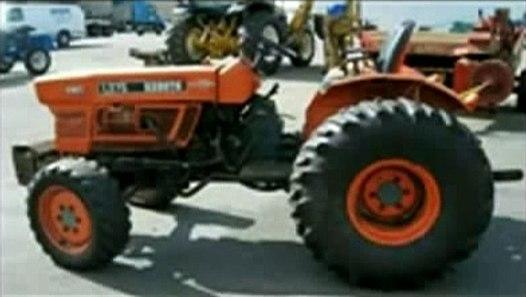 Kubota L235 L275 Tractor Operator Manual DOWNLOAD  ─影片 ...