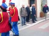 Mentana 25 aprile 2013 - Festa della Liberazione. Arrivo della Banda di Mentana in Piazza Garibaldi.