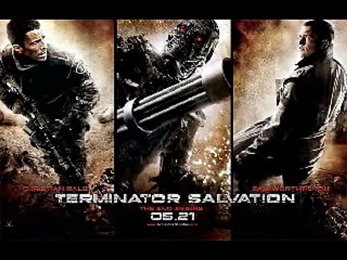TERMINATOR SALVATION SOUNDTRACK / NIN - the day the world went away ( War Distortion Edit )