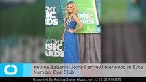 Kelsea Ballerini Joins Carrie Underwood in Elite Number One Club