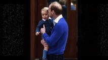 Prince William Brings Prince George to Hospital to Visit Kate and Newborn Sister, Royal Baby No. 2