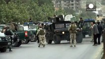 Six gunmen dead in co-ordinated Taliban attack on Afghanistan parliament in Kabul