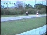 Yamaha R1 - Crash with CBR900