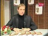 Rien que tes bras, le premier roman d'Olivier Letzelter - reportage TV3V !!!