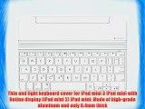 Logitech Ultrathin Magnetic Clip-On Keyboard Cover for iPad mini 3/mini 2/mini Silver (920-006260)
