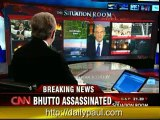 CNN talks foreign policy with RON PAUL after Bhutto murder