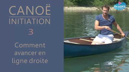 Canoë Initiation - Comment avancer en ligne droite
