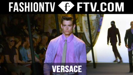 Versace Show Spring/Summer 2016 | Milan Collections: Men | FashionTV