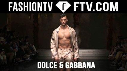 Dolce & Gabbana Show Spring/Summer 2016 | Milan Collections: Men | FashionTV