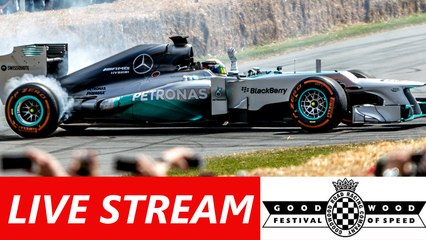 Watch F1, Supercars and MotoGP bikes on final day of Festival of Speed – LIVE NOW! Jenson Button, Rossi, Ken Block & Mad Mike all driving.