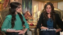 Julia Roberts, Armie Hammer and Lily Collins talk 'Mirror Mirror' with Andrew Freund
