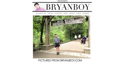 FLIP STYLE: INTERVIEW WITH  BRYAN BOY PART 1