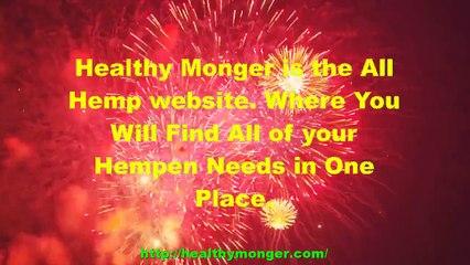 Hemp, Hemp, and More Hemp at Healthy Monger.com | Find Hemp Easily