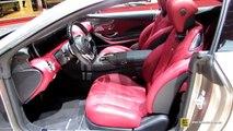 2015 Mercedes-Benz S500 AMG Coupe vs 2015 Mercedes-Benz S65 AMG Coupe  | interior 2015 Mercedes