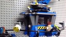 Lego jurassic world raptor escape animation