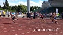 Athlétisme : Maeva Contion aux championnats de Picardie à Compiègne