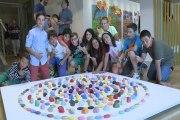 Escolares vascos exponen en el Museo Guggenheim