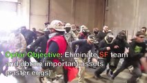 CQB CITY AIRSOFT ACTION APRIL 24th 2011 (EASTER AIRSOFT KWA MP9 KJW P226 POV FOOTAGE)