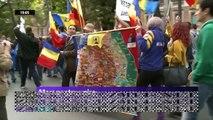HD MARS pentru BASARABIA 2014 - MII de ROMANI au cerut UNIREA cu MOLDOVA 12 octombrie 2014