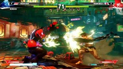 Gameplay Tournoi E3 2015 de Street Fighter V