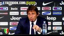 """A.Conte: """"Sono stato, sarò e sarò sempre un tifoso della Juve"""""""