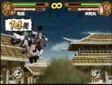 Naruto: Narutimate Hero 3 Sakon vs Orochimaru