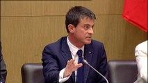 """Manuel Valls : """"Il n y aura d'Islam de France profondément inscrit dans les valeurs de la République qu'à la condition de casser le cercle vicieux du rejet de l'Islam par la société"""""""