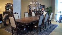 Victoria Palace Rectangular Double Pedestal Dining Room Table by Michael Amini