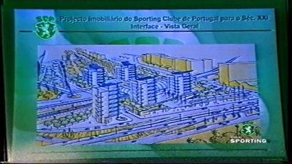 Godinho Lopes apresenta em AG o projecto do Novo Estádio, Academia e urbanização dos terrenos de Alvalade a 13/05/1999