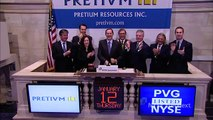 Gold Miner Pretium Resources Lists on the NYSE and rings the NYSE Opening Bell