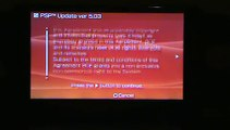 6.20 to 5.03 Downgrade on PSP 3000